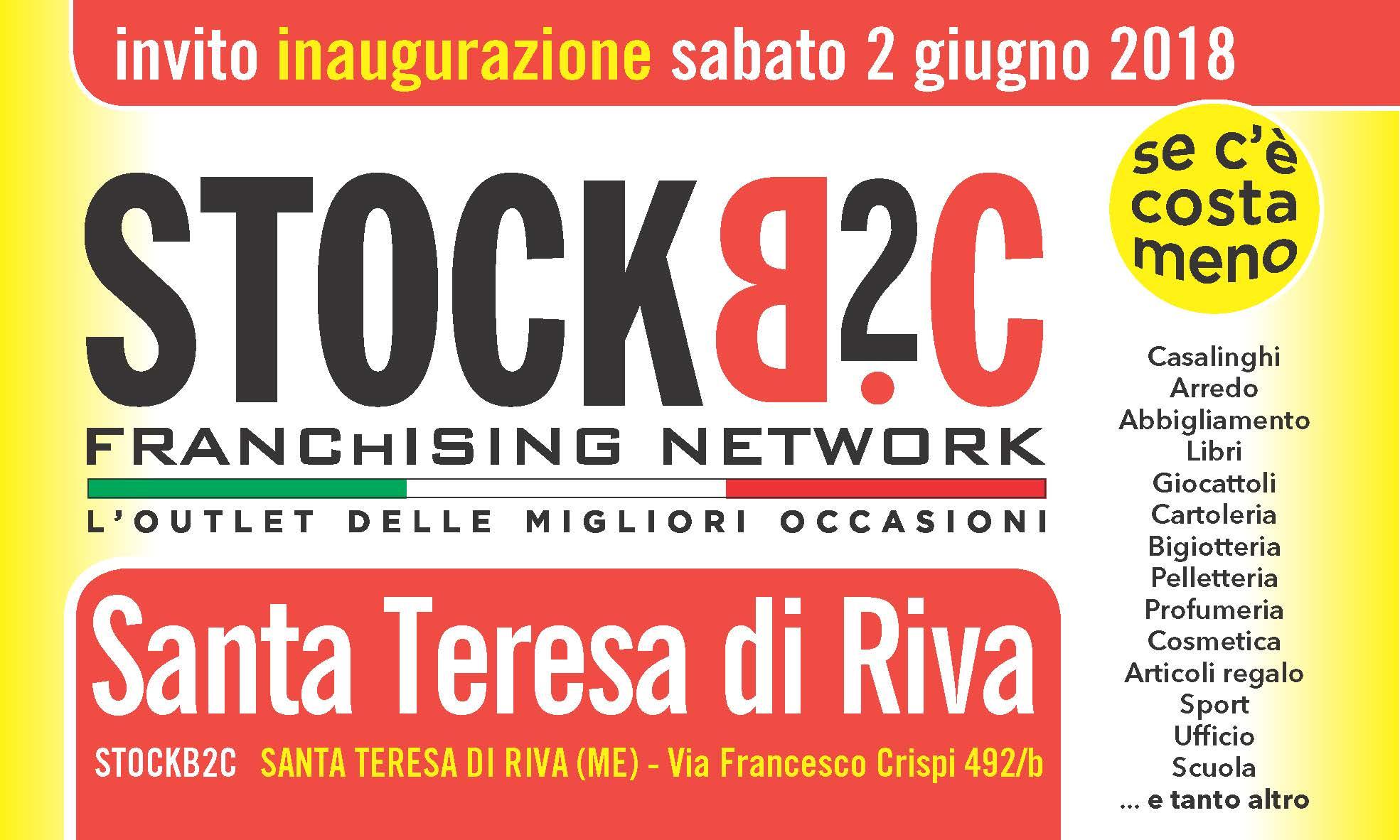 invito STOCKB2C Santa Teresa di Riva